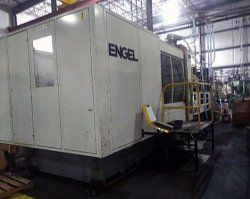A photo of a 2001 1000 ton Engel used injection molder