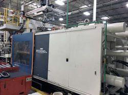 Used UBE plastic molder 1000 ton