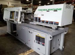 Used 110 ton Toshiba all-electric plastic molder from 2000