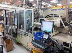 used Krauss Maffei plastic molding machine
