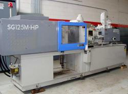 used 2003 125 ton Sumitomo plastic injection molder