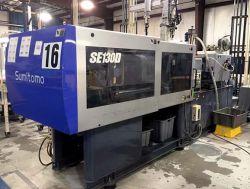 143 ton Used Sumitomo All-Electric plastic molder