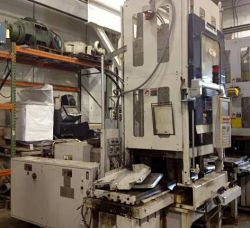 Newbury used vertical plastic molder for sale