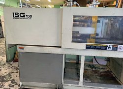 150 ton Toshiba molding machine for sale that was made in 1997