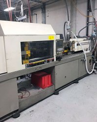 Used 150 ton Toshiba plastic molder from 2003