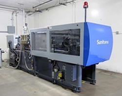 198 ton Sumitomo All Electric plastic injection molder for sale