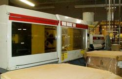 used 300 ton Van Dorn plastic molder equipment