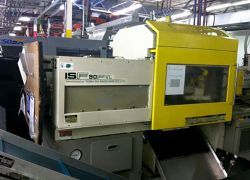 used 90 ton Toshiba injection molder for sale