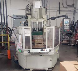 A 150 ton rotary plastic molder from Autojectors