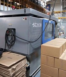 Check out a photo of this 1997 286 ton Sumitomo used injection molder