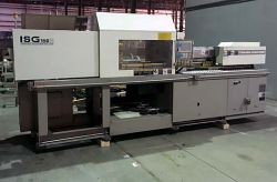 Used 150 ton Toshiba plastic molder from 1998