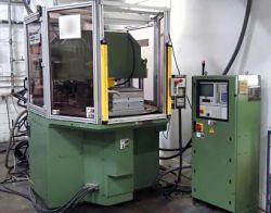 Arburg 88 ton vertical rotary plastic molder