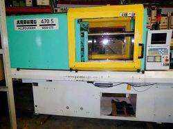 Used Arburg plastic molders 110 ton