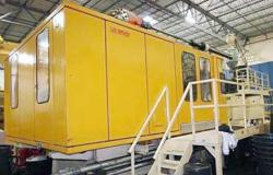 Used 990 ton Husky plastic injection molder