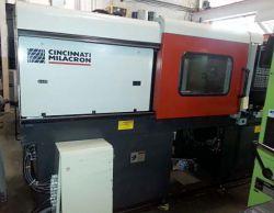 Used Milacron plastic molder 120 ton