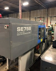 2000 83 ton Sumitomo used electric molding machine for sale