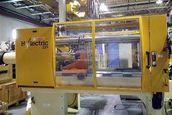 Used Hyelectric Husky 225 ton plasticmolder