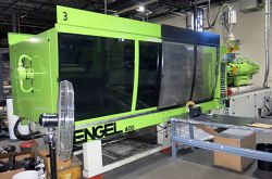 400 ton Engel plastic injection molder for sale