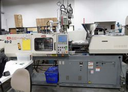 Used Nissei all-electric plastic molder 44 ton