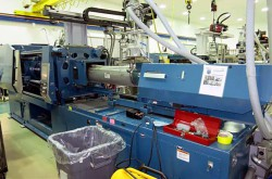 Used Nissei 309 ton plastic molder