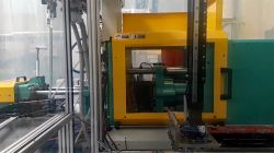 Used 55 ton Arburg liquid silicone rubber plastic molder from 2002