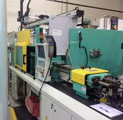 Used 55 ton Arburg two shot plastic injection molder for sale