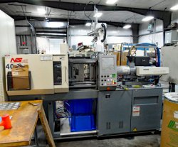 Used 44 ton Nissei plastic molder from 2003
