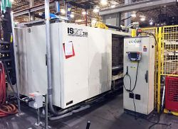 Used 720 ton Toshiba plastic injection molder for sale
