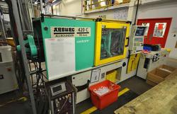used 110 ton Arburg plastic injection molder for sale