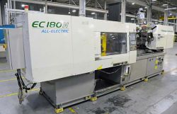 Used all-electric Toshiba plastic molder 180 ton