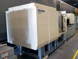 Photo of a 2004 300 ton Nissei electric plastic molder