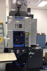 2004 50 ton electric Sumitomo vertical clamp single station with vertical injection