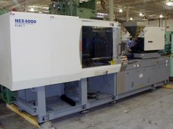 All-electric 200 ton Nissei injection molder