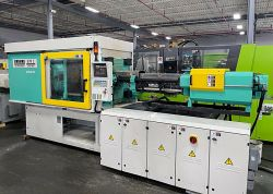 Take a closer look these two Arburg used injection molders
