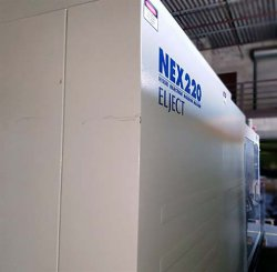 Used Nissei all-electric 242 ton plastic injection molder for sale