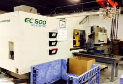 500 ton Toshiba all electric injection molder
