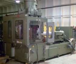 Used 1996 200 ton Vertical Nissei plastic molding machine