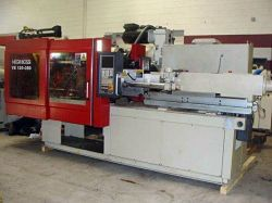 Photo of a 132 ton Negri Bossi electric used injection molder from 2010