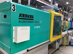 2012 220 ton Arburg used electric plastic molders