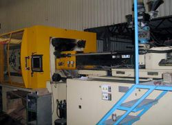 225 ton Husky electric plastic injection molder for sale