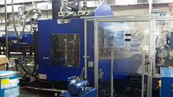 280 ton Van Dorn Rotary Injection Molder Used