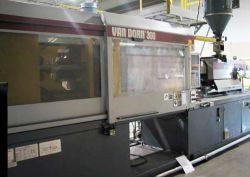 used Van Dorn plastic molder