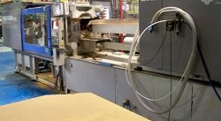 used sumitomo all-electric plastic molder