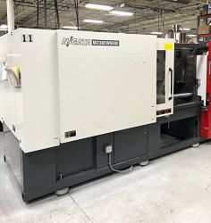 Used 393 ton Niigata All-electric plastic injection molder for sale