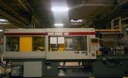 photo of a 400 ton Van Dorn plastic molding machine for sale