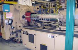 750 ton Engel used injection molder