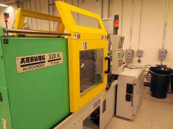 Used 77 ton Arburg plastic injection molder for sale