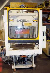 85 ton Engel Vertical Rotary used injection molder