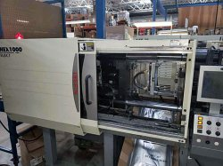 used Nissei 88 ton all-electric plastic molder