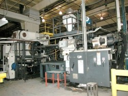 used cinci plastic injection machine